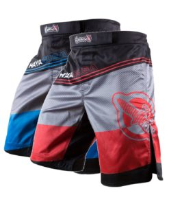 kyoudo shorts red-blue