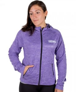 ladie zip up lilac 1